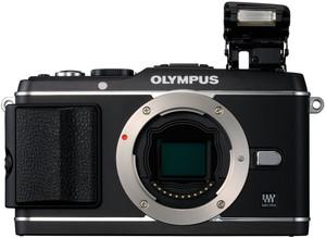 Olympus E-P3 flash