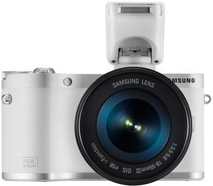 Samsung NX300M flash