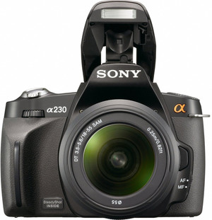 Sony A230 flash