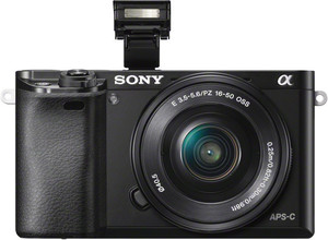 Sony A6000 flash