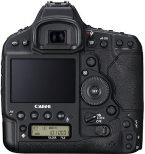 Canon 1D X II back view and LCD