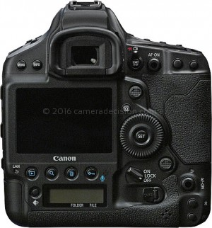 Canon 1D X III back view and LCD