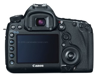 Canon 5D MIII back view and LCD