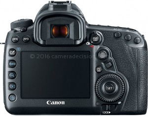 Canon 5D MIV back view and LCD