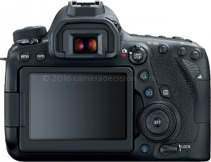 Canon 6D MII back view and LCD