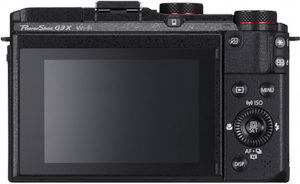 Canon G3 X back view and LCD