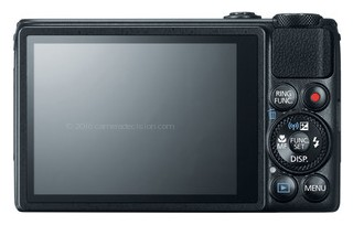 Canon S120 back view and LCD
