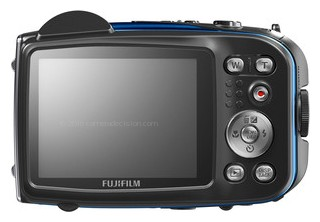 Fujifilm XP60 back view and LCD