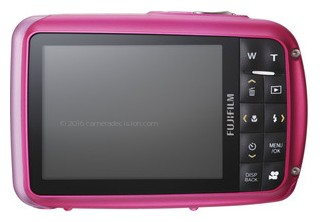 Fujifilm Z33WP back view and LCD