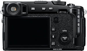 Fujifilm X-Pro2 back view and LCD