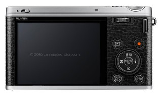 Fujifilm XF1 back view and LCD