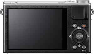 Fujifilm XQ2 back view and LCD
