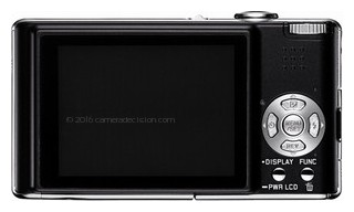 Leica C back view and LCD