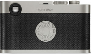 Leica M Edition 60 back view and LCD