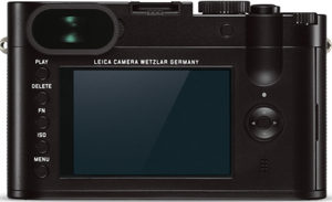 Leica Q back view and LCD