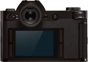 Leica SL back view and LCD