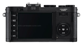 Leica V-Lux 40 back view and LCD