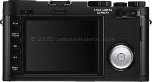 Leica X Vario back view and LCD