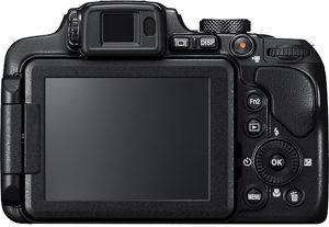 Nikon B700 back view and LCD
