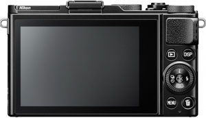 Nikon DL24-85 back view and LCD