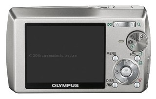 Olympus 1 back view and LCD