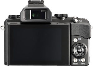 Olympus 1s back view and LCD