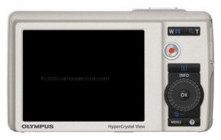 Olympus 5010 back view and LCD