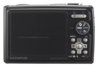 Olympus 6000 back view and LCD