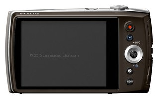 Olympus VH-515 back view and LCD