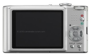 Panasonic FX48 back view and LCD