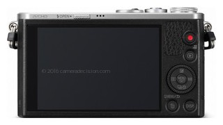 Panasonic GM1 back view and LCD