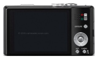 Panasonic L1 back view and LCD