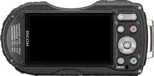 Ricoh WG-5 GPS back view and LCD