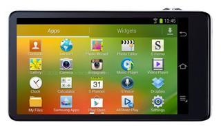Samsung Galaxy Camera back view and LCD