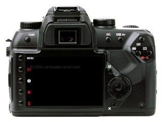 Sigma SD15 back view and LCD