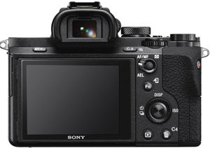 Sony A7 II back view and LCD