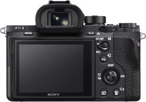 Sony A7S II back view and LCD