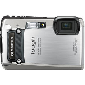 Does the Olympus TG-820 iHS have GPS?