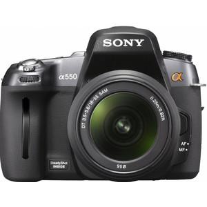 Sony Alpha DSLR-A550