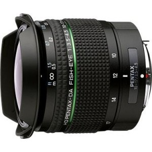 HD Pentax-DA 10-17mm F3.5-4.5 ED fisheye