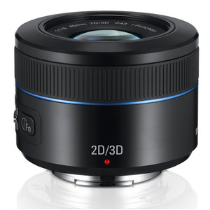 Samsung NX 45mm F1.8 2D3D