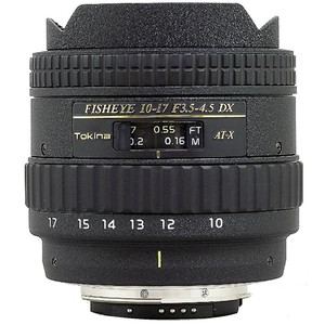 Tokina AT-X 10-17mm f3.5-4.5 DX Fish-eye