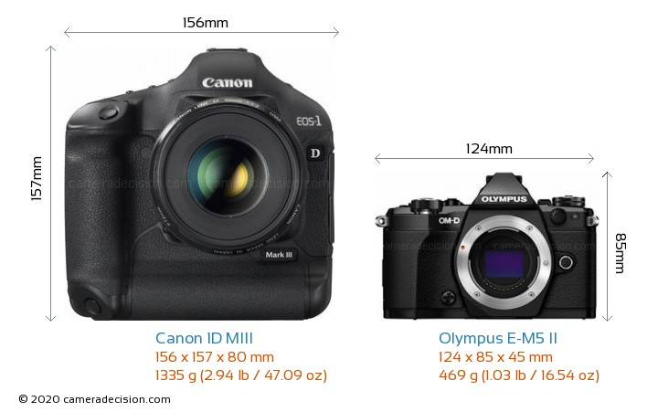 canon 1d miii vs olympus e m5 ii detailed comparison. Black Bedroom Furniture Sets. Home Design Ideas