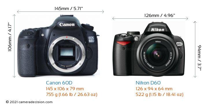 canon 60d vs nikon d60 detailed comparison. Black Bedroom Furniture Sets. Home Design Ideas