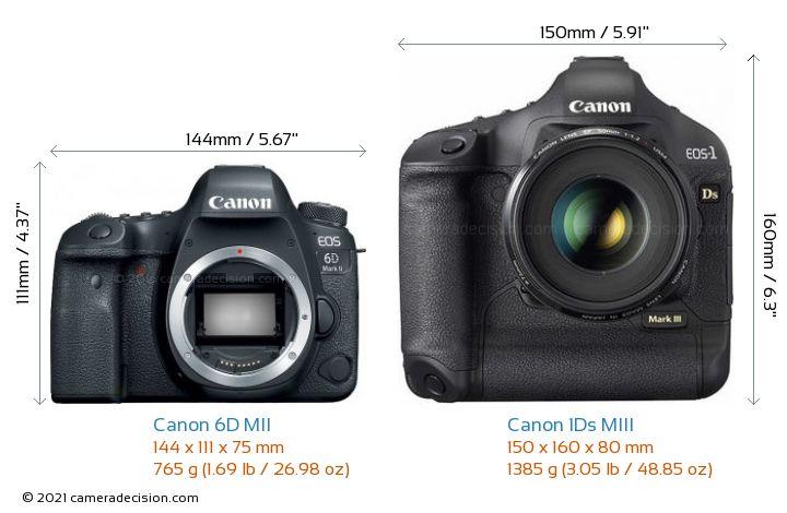Canon 6d Mii Vs Canon 1ds Miii Detailed Comparison