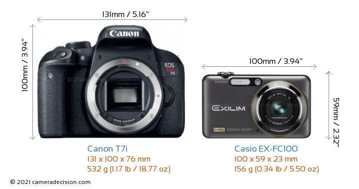 canon t7i vs casio ex fc100 detailed comparison. Black Bedroom Furniture Sets. Home Design Ideas