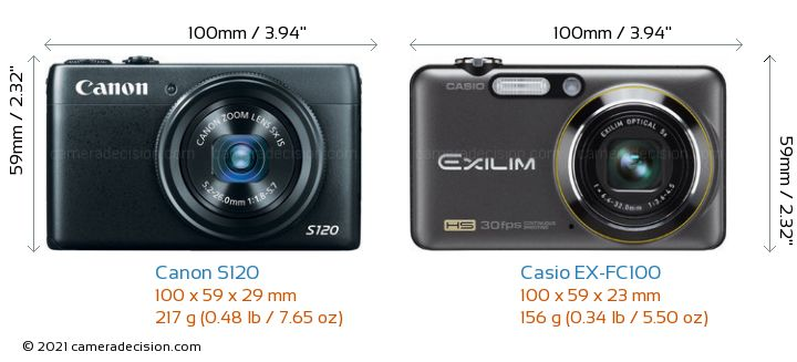 canon s120 vs casio ex fc100 detailed comparison. Black Bedroom Furniture Sets. Home Design Ideas