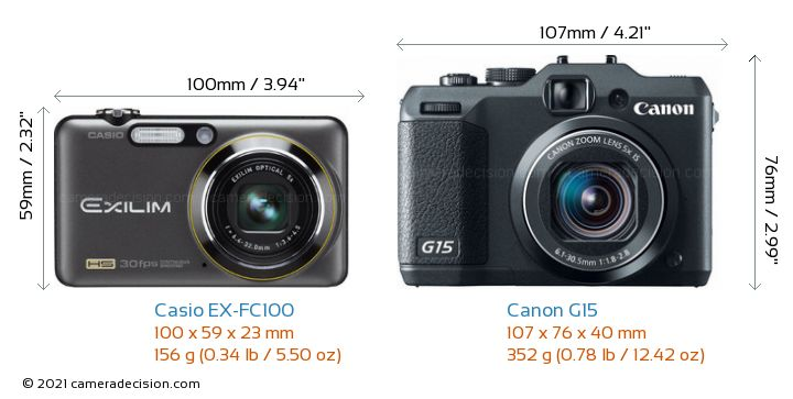casio ex fc100 vs canon g15 detailed comparison. Black Bedroom Furniture Sets. Home Design Ideas