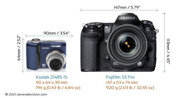 Kodak vs fugi