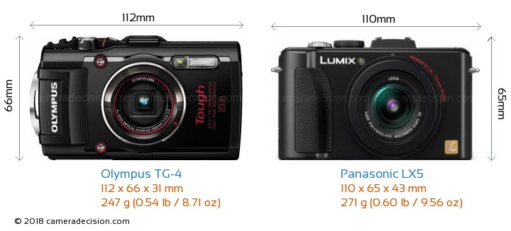 olympus tg 4 vs panasonic lx5 detailed comparison AVCHD Panasonic LX5 Panasonic Lumix DMC LX7